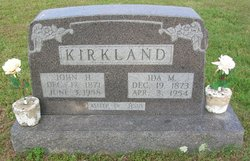 Ida Mae <i>Shrum</i> Kirkland