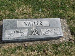 Carl A Watler, Sr