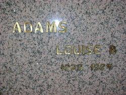 Louise B. Adams