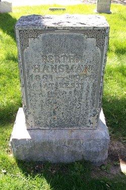 Bertha Hansman