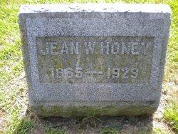 Jean W. Honey