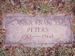 Anna <i>Francis</i> Peters