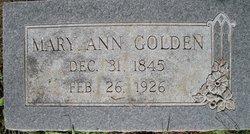 Mary Ann <i>Sweeney</i> Golden