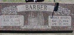 Cleo <i>Bennett</i> Barber