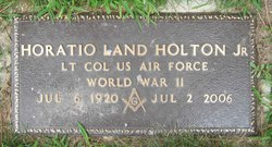 Horatio Land Sonny Holton, Jr