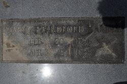 Mary Ann <i>Stanford</i> Akins