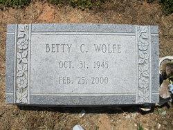 Betty <i>Cobb</i> Wolfe