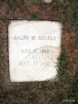 Ralph W Arnold