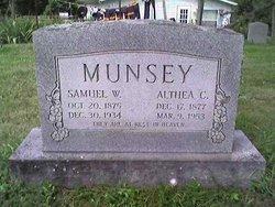 Althea Caldonia <i>Burchett</i> Munsey