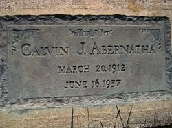 Calvin James Abernatha
