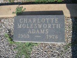 Charlotte <i>Molesworth</i> Adams