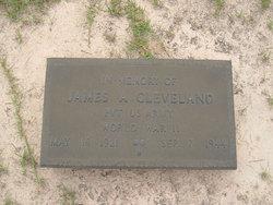 Pvt James Alton Cleveland