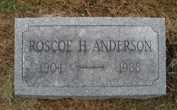 Roscoe H Anderson