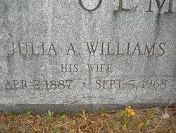 Julia A. <i>Williams</i> Olmsted