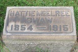 Hattie <i>McElree</i> Shaw