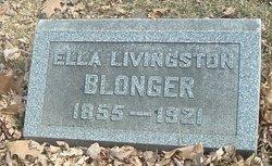 Ella M. <i>Livingston</i> Blonger