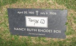 Nancy Ruth <i>Rhodes</i> Box