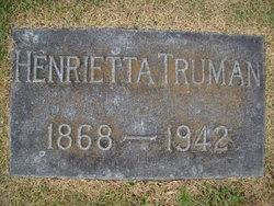 Henrietta Truman