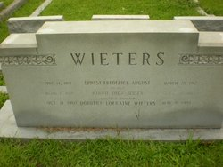 Ernest Frederick August Wieters