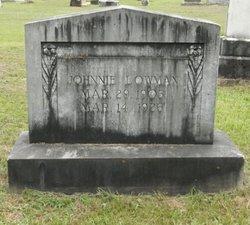 Johnnie Lowman