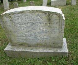 Emma E <i>Ladd</i> Allen