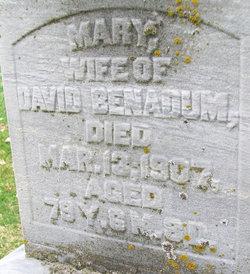 Mary <i>Benadum</i> Benadum