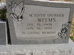 Mary Edith <i>Spurrier</i> Weems