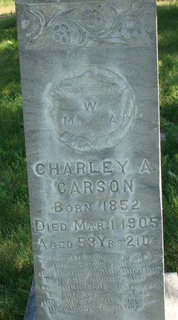 Charles A Carson