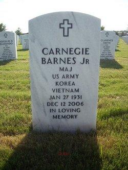Maj Carnegie Barnes, Jr