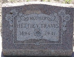 Hettie Virginia <i>West</i> Travis