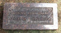 Darkus Jane <i>Johnson</i> Allen