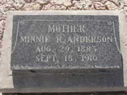 Minnie <i>Rickenbach</i> Anderson