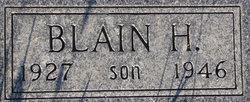 Blaine H. Coble