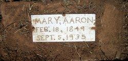 Mary Elizabeth <i>Hill/Fisher</i> Aaron