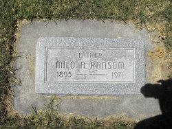 Milo Ames Ransom