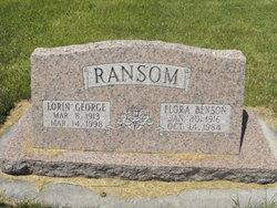 Flora <i>Benson</i> Ransom