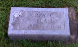 Roy Grover Blair