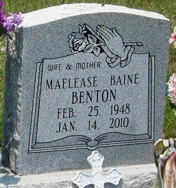 Maelease Baine <i>Gilmore</i> Benton