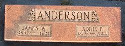 Addie Florence <i>Johnson</i> Anderson