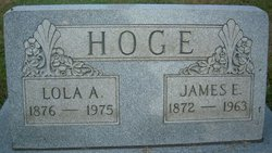 James Edward Hoge