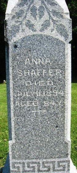 Anne <i>Kinzer</i> Shaffer
