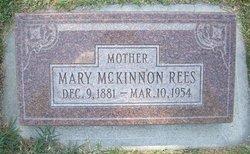 Mary Marie <i>McKinnon</i> Rees