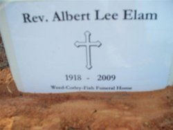 Rev Albert Lee Elam