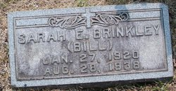 Sarah Elizabeth Bill Brinkley