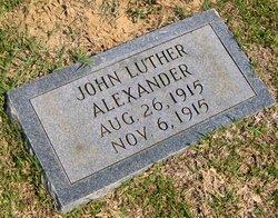 John Luther Alexander, Jr
