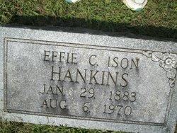 Effie C <i>Ison</i> Hankins