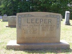 Sarah Jane <i>Ford</i> Leeper