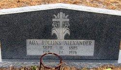 Ada <i>Rollins</i> Alexander