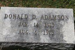 Donald D. Adamson