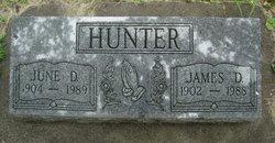 June Delores <i>Gustafson</i> Hunter